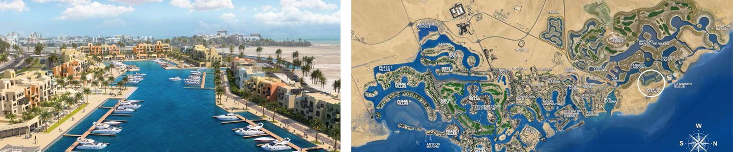 4 BR Apartment With Marina View-El Gouna