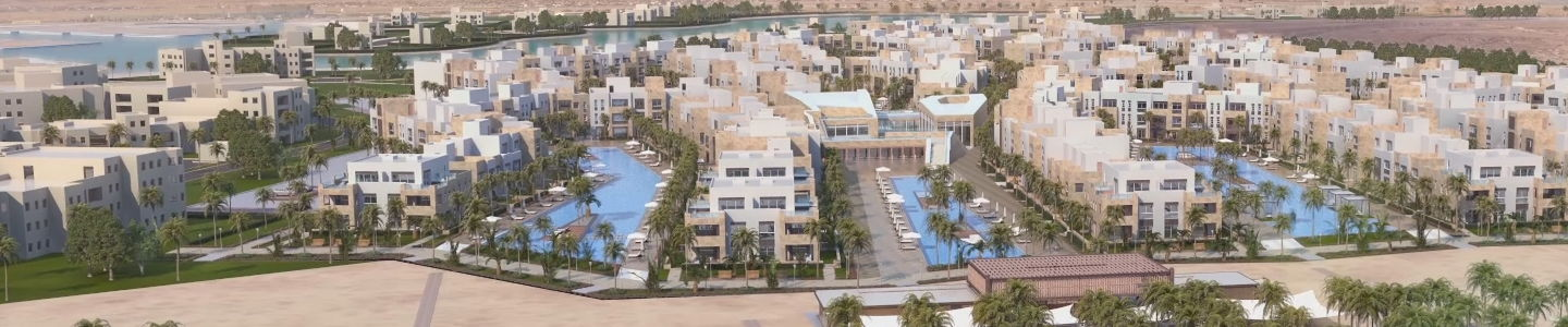1BR Apartment-pool view-Mangroovy-Gouna