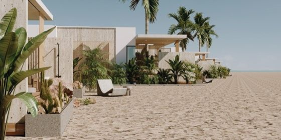Studio on the beach-Mesca Cabanas - Soma