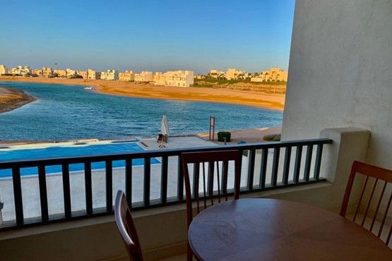2BR Apartment with Lagoon view-Al Gouna