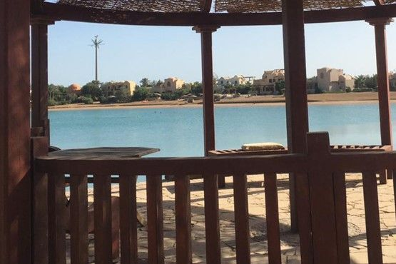 3BR Apartment with Lagoon view-El Gouna