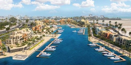2 BR Apartment with Marina View-El Gouna