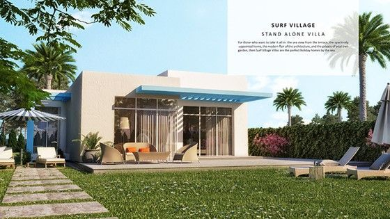 twin villa 2 BDR in soma bay sea view