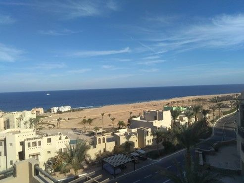2 BR Azzurra with Sea view-Sahl hasheesh