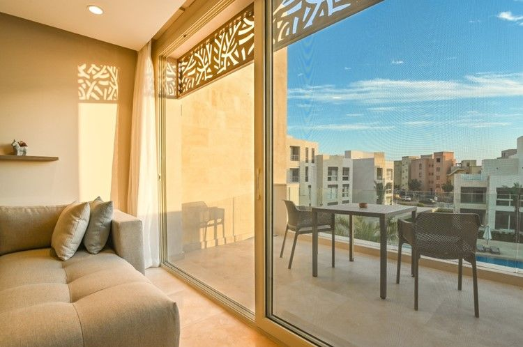 1BR Apartment-pool view-Mangroovy-Gouna - 7