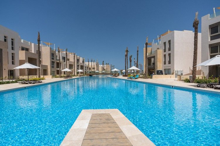 1BR Apartment-pool view-Mangroovy-Gouna - 10