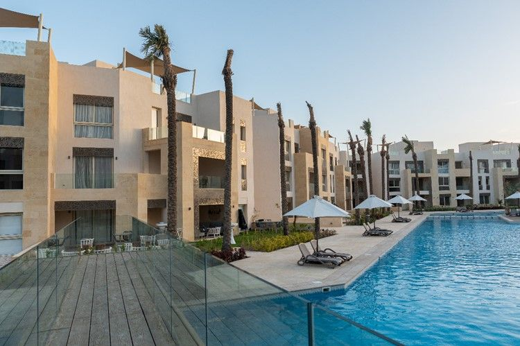 1BR Apartment-pool view-Mangroovy-Gouna - 11