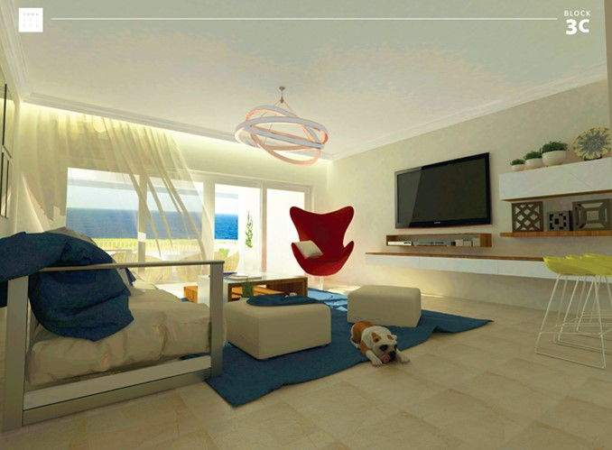 2 Bedrooms Apartment-Pool&Sea view